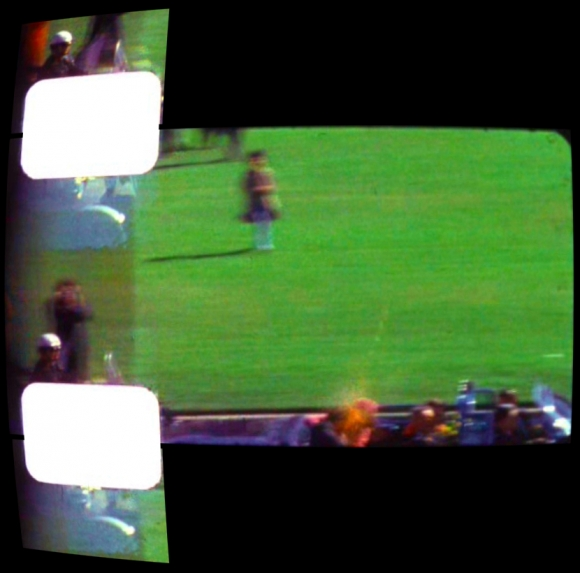 Frame 313 of the Zapruder Film