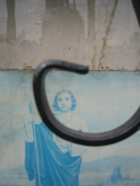 Blue Jesus Window, Los Angeles, 2003