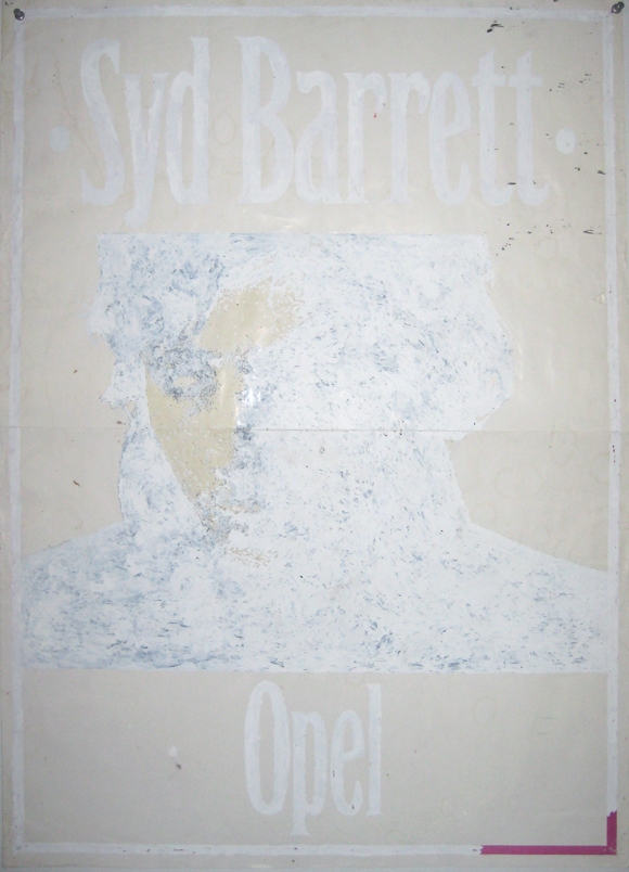 Wited-Out Syd Barrett Poster (1998)