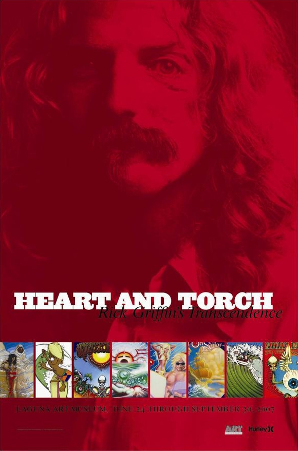 Rick Griffin Heart & Torch