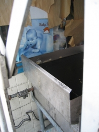Blue Baby Window, Sunset Blvd, 2004