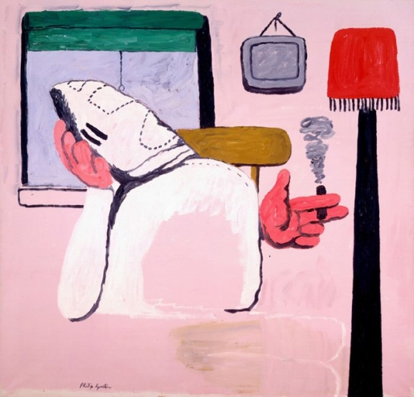 Philip Guston By the Window 1969 oil on board 30 by 39 in